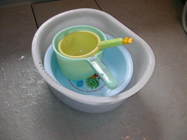 お風呂の桶たち〜