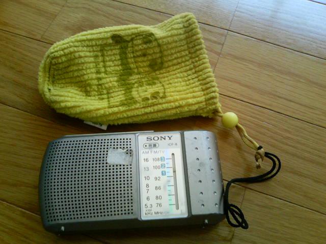 現場用ラジオ AM派?、FM派?