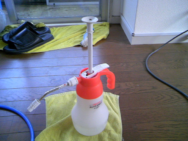 便利な蓄圧式噴霧器