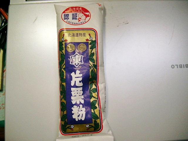 片栗粉を洗剤の増粘剤として使用。