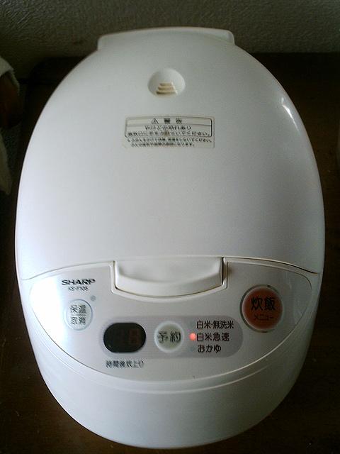 炊飯器がぴっかぴか〜!(掃除後)