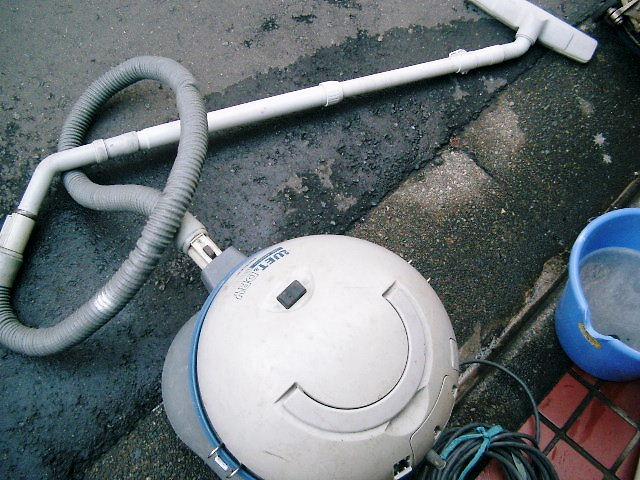 乾湿式の掃除機