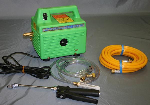 家庭用エアコン用の洗浄機