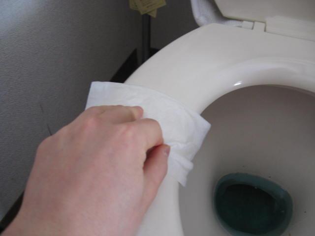 トイレ掃除しました