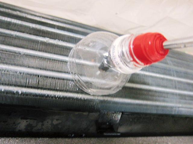 エアコン洗浄用ノズルのカバー