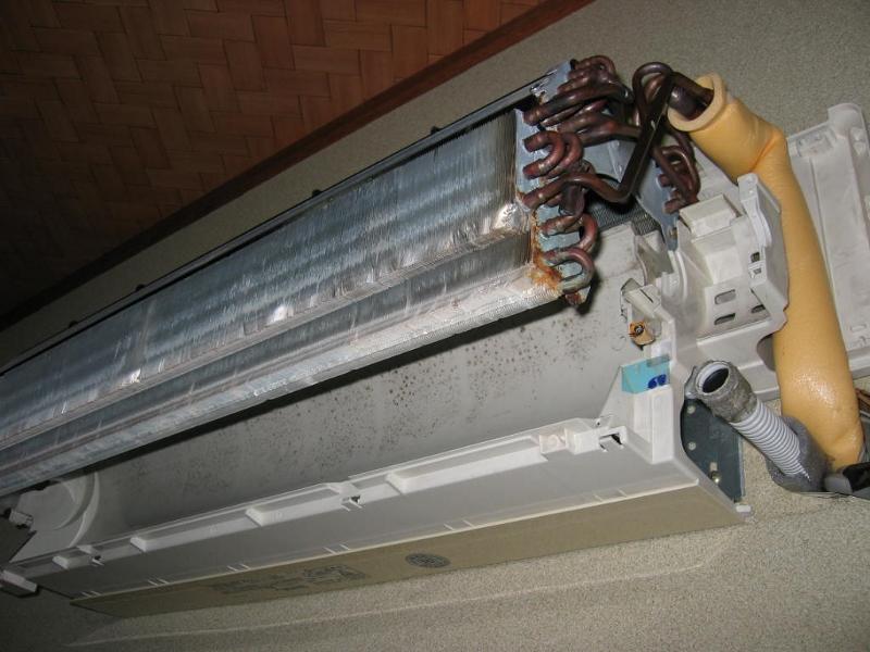 エアコン分解・洗浄