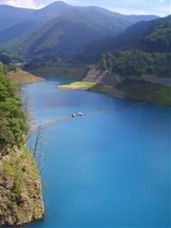 群馬県 四万のダム