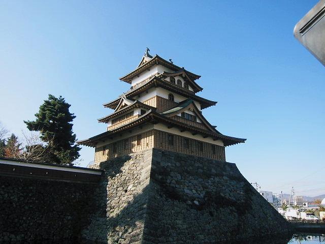 諏訪の高島城