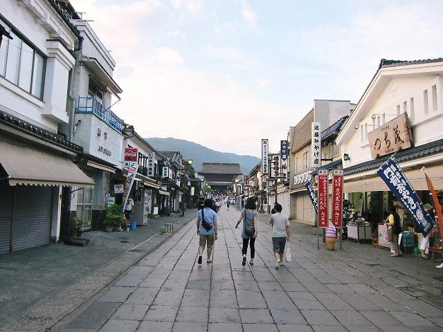 長野市 善光寺の参道
