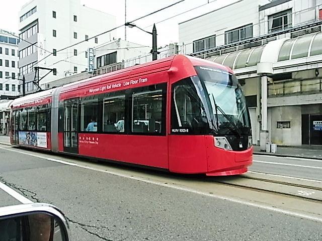 高岡市の路面電車