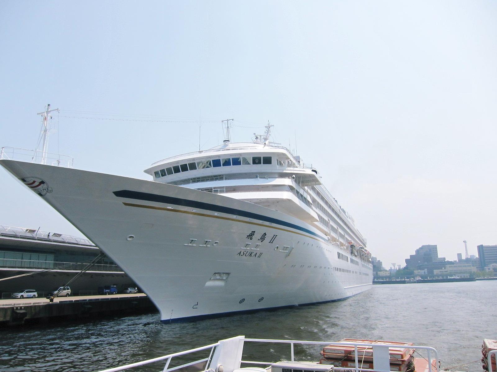日本最大の客船飛鳥�