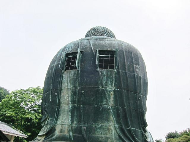 鎌倉の大仏の裏側