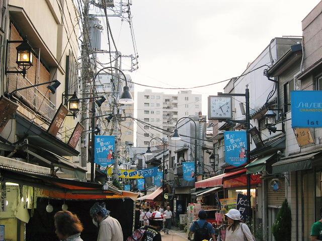 台東区 谷中商店街