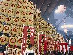 秋田の灯篭