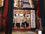 板橋北野神社の田遊び