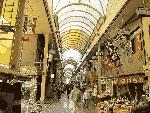 弘明寺のアーケード商店街