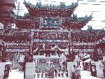 横浜中華街の天后宮(媽祖廟)
