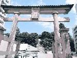 宇都宮市の中心地にある二荒山神社
